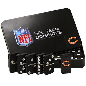 NFL Chicago Bears Double Six Dominoes