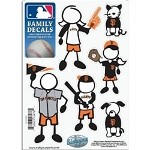 MLB  San Francisco Giants Family Window Decals